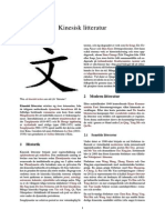 Kinesisk litteratur