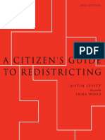 A Citizens Guide to Redistricting (2010 Edition)