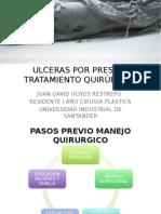 TRATAMIENTO QUIRÚRGICO ULCERAS POR PRESIÓN