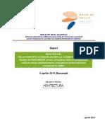 BUILD UP Skills QualiShell Raport Masa Rotunda 6 Aprilie 2015