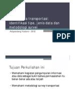 01 Kajian Data Transportasi