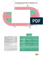 IAAF Track and Field Facilities Manual 2008 Edition - Marking Plan 200m Indoor Track