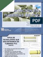 Cimentación en Tuberías de Pvc y Sumideros Transversales