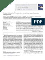 Inibidor de protease em Moringa- inibidor,  caracterização e purificação.