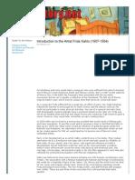 Frida Kahlo and Art History