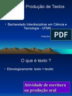 Leitura e Produção Textual Aula 2A