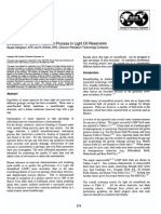 Evaluation of Steam Injection Process in Light Oil Reservoirs- 1998