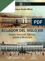 Ecuador Del Siglo XIX - Ayala Mora, Enrique
