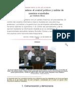 «Guerra y Mentira» El Control Político y Militar de Nuestras Sociedades