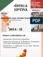 Estadistica- Clase 1