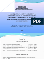 DEFESA DO MESTRADO - apresentação ppt 2009