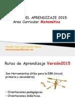 Rutas Del Aprendizaje 2015clhv
