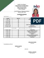 classroom program 3 sheet1