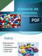 glosario de medicamentos