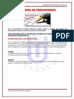 SISTEMA DE PRESUPUESTO.doc