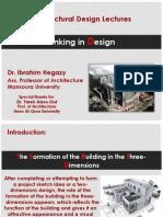كيفية التفكير المعماري- د.إبراهيم رزق