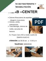Centro Fisioterapia y Rehabilitaciósssn