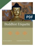Buddhist Etiquette