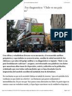 """Chile Es Un País Brutalmente Enfermo"" 25 SEPTEMBER 2013 08.09"