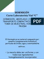 HORMIGÓN Mezclado Colocacion