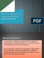 Narrativa, Gramática y Comprensión Lectora 7 Basico 2015