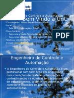 Aula Inaugural Presencial 2015 Controle e Automação