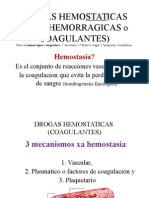 3.1. HEMOSTATICAS