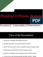 Branding in Priority Banking