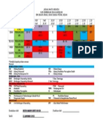 Jadual Waktu Individu Bimbingan & Kaunseling 2015 - FATIN HANIM