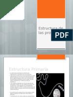 Estructura de Las Proteínas