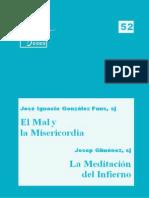 Eides 52, El Mal y la Misericordia & La Meditación del Infierno - JI González Faus & J Giménez