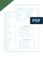 Bachi Resumen Formulas y Leyes