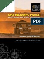 CRCMining 2014 Industry Forum Program Web6