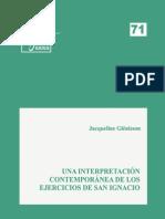 Eides 71, Una Interpretación Contemporanea de Los EE de San Ignacio