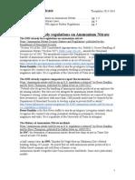 Ammonium Nitrate Brief [Official]