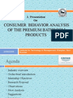 Study of Consumer Behavior of Sanitary Ware Appliances Final Presentation