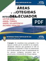 Areas protegidas del ecuador