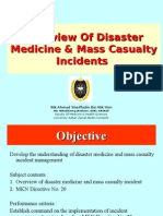 Disaster Mx - Overview of Disaster Management and MCI.ppt
