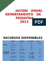 PRESENTACION PEDIATRIA 2013