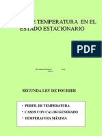 PERFIL DE TEMPERATURA