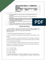 Teste de física - 1ª Série -.docx
