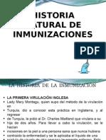 Historia Natural de La Inmunizacion