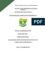 Proyecto Camaras