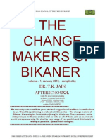 The Change Makers of Bikaner