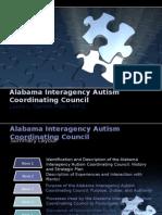nur 740 field experience-alabama interagency autism coordinating council condensed