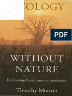 Timothy Morton Ecology Without Nature Rethinking Environmental Aesthetics