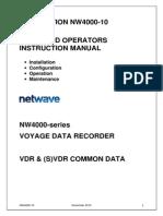 NW4000-10 VDR Ships and Operators Instruction Manual v 2.1.5