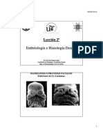 Embriologia e Histologia Dental