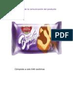 Diseño de La Comunicación Del Producto