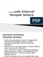 Metode Interval spss